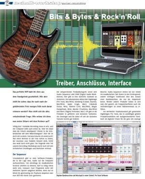 Gitarren-Recording Workshop