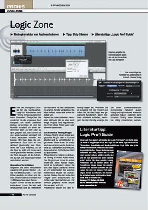 Timingkorrektur von Audioaufnahmen