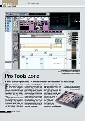 Pro Tools Zone Tempo