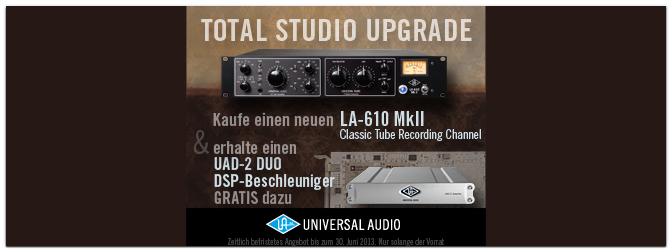 UAD Total Studio Upgrade