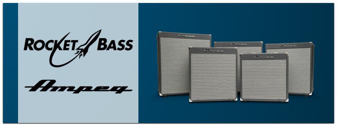 Ampeg Rocket Bass – Neue Bass-Combos mit dem legendären Sound