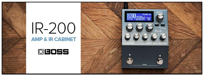 Boss IR-200 Amp & IR Cabinet – Praktisches Klangwerkzeug für Bühne und Studio