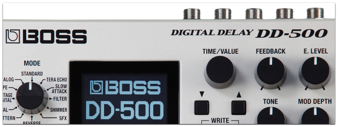 Summer NAMM 2015 – BOSS DD-500 Digital Delay