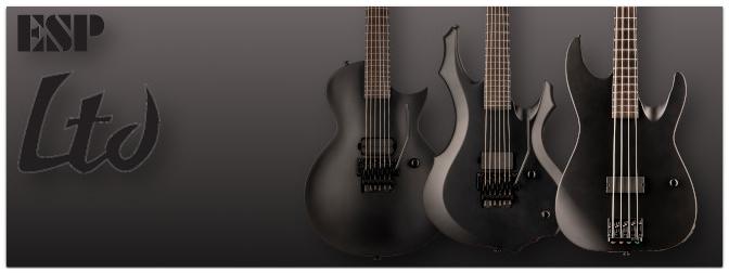 NAMM Show 2021 – Zuwachs für die ESP LTD Black Metal Serie