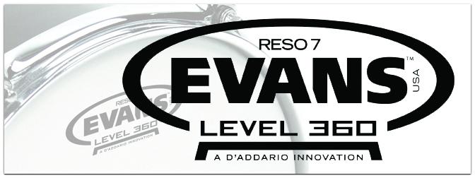 NAMM Show 2015 – neue Reso-Felle von Evans