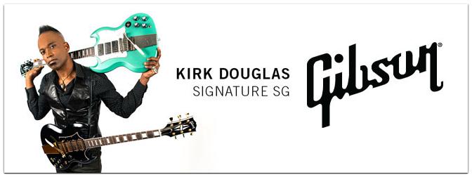 NAMM Show 2021 – Gibson Kirk Douglas Signature SG