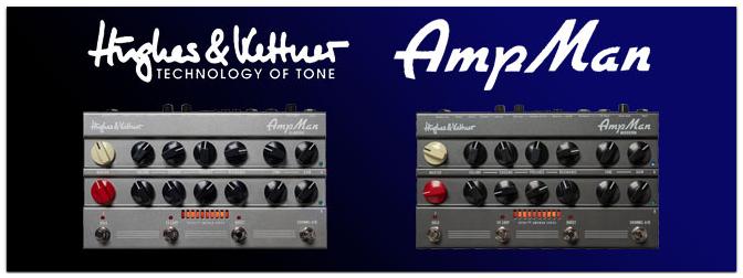 Hughes & Kettner SPIRIT AmpMan Classic und Modern