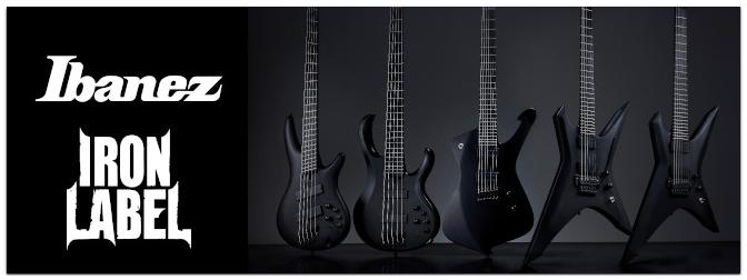 Ibanez Iron Label Serie – Neue Gitarren und Bässe für Metalheads