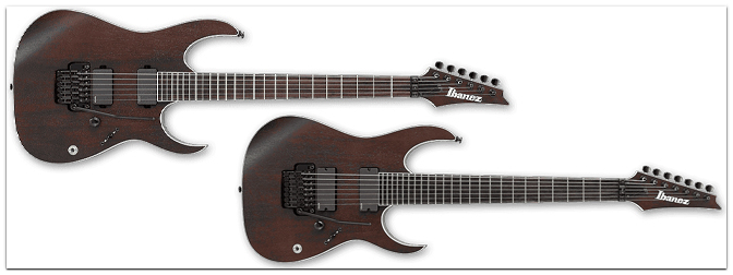 Musikmesse 2015 – IBANEZ Iron Label Walnut Flat