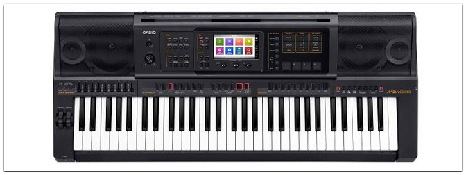 NAMM SHOW 2016 – CASIO MZ-X300 Premium Entertainer Keyboard