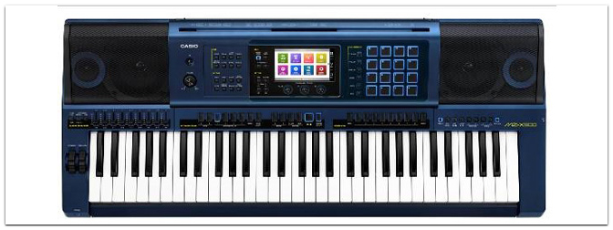 NAMM SHOW 2016 – CASIO MZ-X500 Premium Entertainer Keyboard