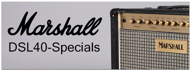 Musikmesse 2015 – MARSHALL DSL40-Specials
