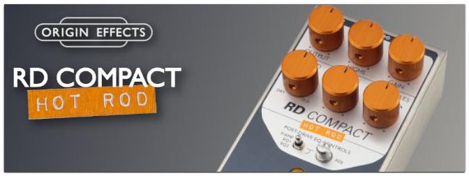 Origin Effects RevivalDRIVE Hot Rod Edition Compact