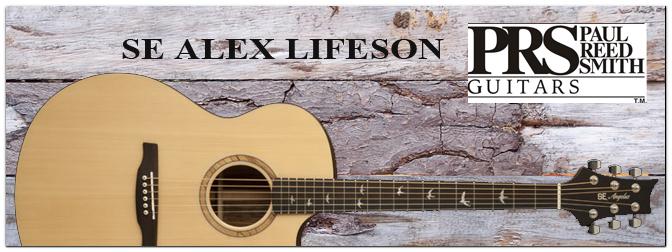 PRS SE Alex Lifeson Thinline NAT