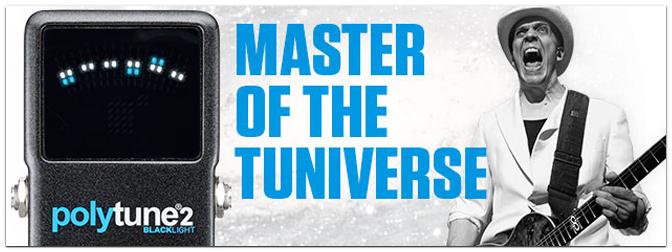 TC Electronic PolyTune 2 Black Light – Master of the Tuniverse!