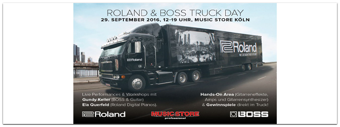 ROLAND & BOSS TRUCK DAY am 29.09.2016