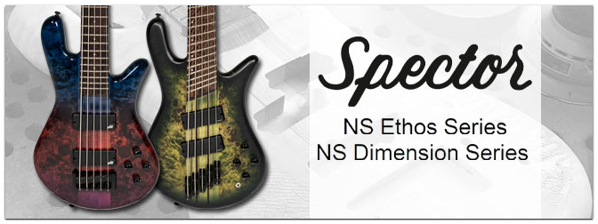 NAMM Show 2021 – Spector NS Ethos und NS Dimension E-Bässe