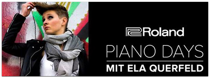 Geballte Tasten-Power bei den Roland Piano Days bei Music Store