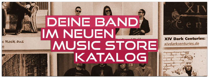 Fotowettbewerb 2022: Euer Bandfoto im MUSIC STORE-Katalog