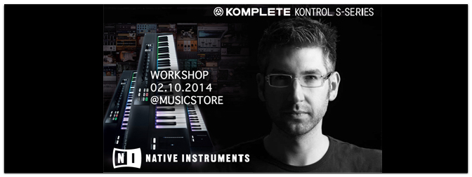 Native Instruments Take Control – Komplete Workshop Tour Köln