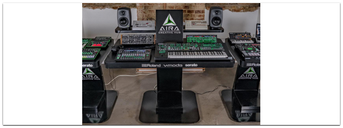 Roland ACH Workshop am 09.10.2018 bei MUSIC STORE