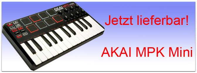 Akai MPK mini jetzt lieferbar