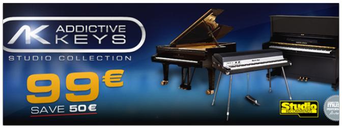 Bis zu 50€ sparen beim XLN Audio Addictive Keys Special bis 30.04.2013