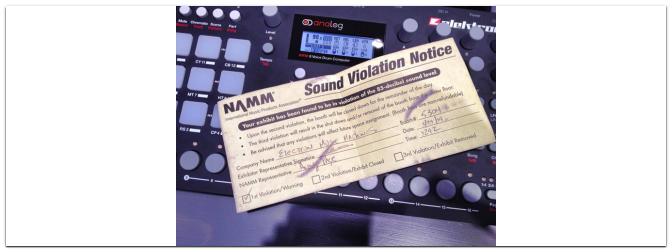 NAMM 2014 bringt neue Elektron Groovebox hervor: Analog Rytm