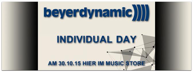 Beyerdynamic Individual Day!