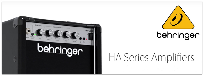 NAMM Show 2021 – Behringer HA Series Combo-Verstärker