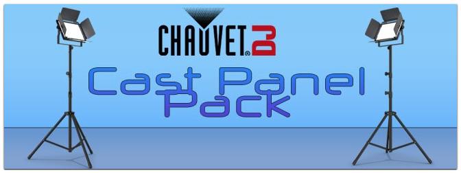 NAMM Show 2021 – Chauvet  DJ Cast Panel Pack