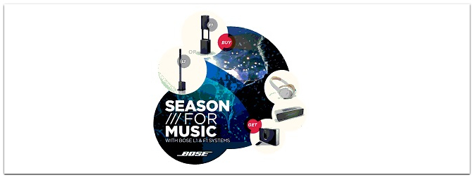 "Bose ""Season for Music"" Special Xmas Deal"