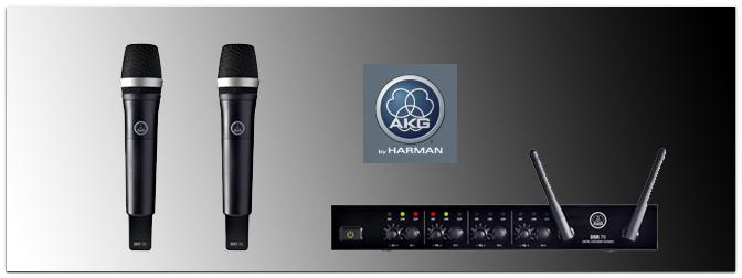 DMS 70 – Neue digitale Funksysteme von AKG