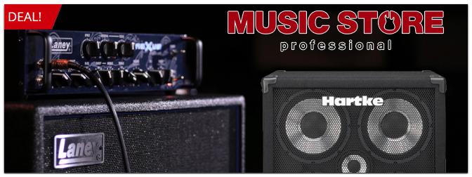 Katalog-Deal – Laney Nexus SL Bass-Verstärker und Hartke XL Cabinets