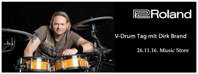 Roland V-Drum Tag mit Dirk Brand am 26.11.2016