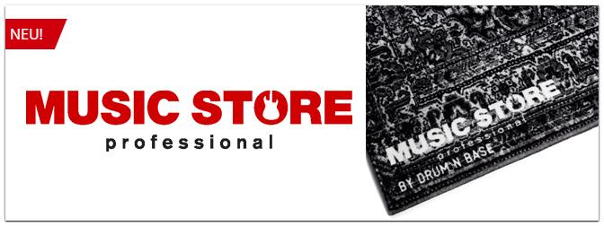 Neu bei uns: Der Drum N Base Vintage Drum Teppich in der Music Store Edition