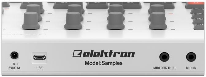 NAMM Show 2019 – Elektron Model:Samples