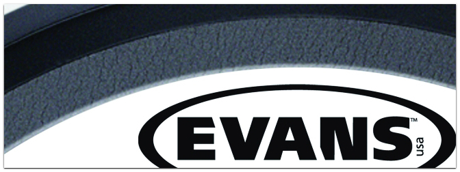 NAMM Show 2015 – neue 16″ Bass Drum Felle von EVANS