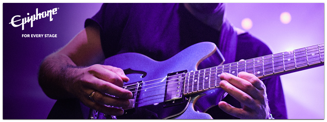 Epiphone veröffentlicht Inspired by Gibson ES-335 und ES-339 Semihollow-Modelle