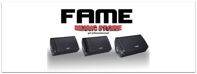 Endlich verfügbar! Die neuen Fame Bühnenmonitore