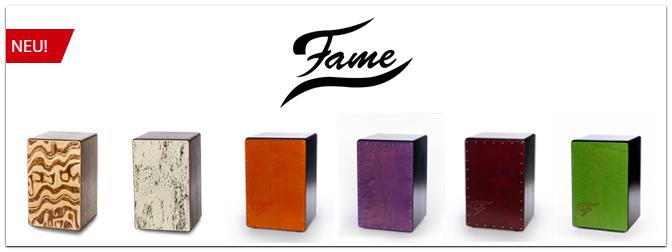 Neu bei uns: Fame Custom Cajons