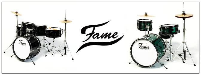 """Neu bei uns: Fame Kiddyset Junior Drumsets der """"Luis""""-Serie"""
