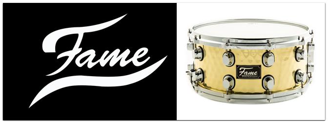 Neue Metall-Snares von Fame