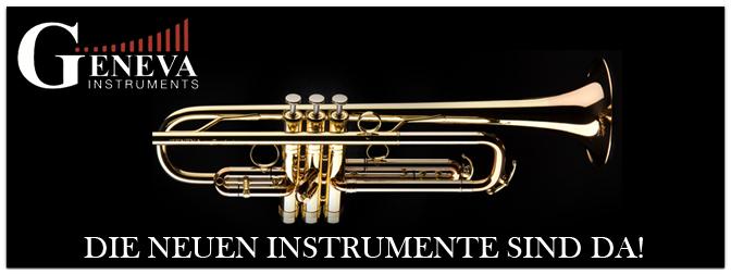 Die neuen Geneva Instrumente sind da!