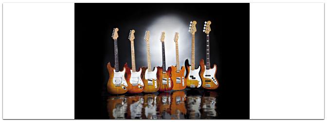 FENDER Select Series 2013 Guitars & Basses