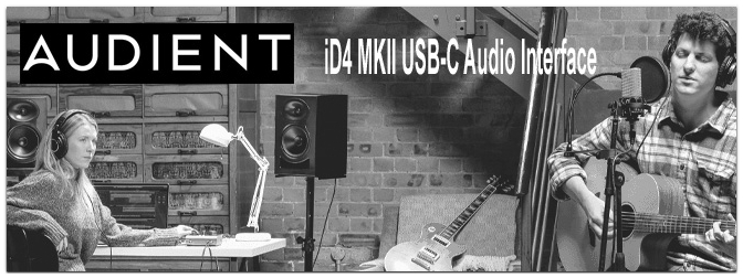 NAMM Show 2021 – Audient iD4 MKII USB-C Audio Interface