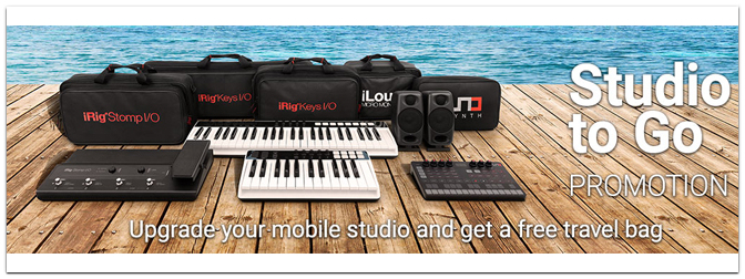 "IK Multimedia ""Studio TO GO-Special"""