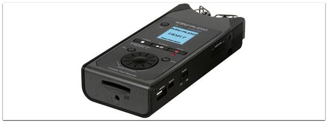 Bei Wind und Wetter: Der tragbare Digital-Rekorder HDR7 von iKEY AUDIO erfüllt beim Außeneinsatz seinen Zweck