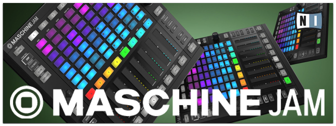 NEU: Native Instruments MASCHINE JAM