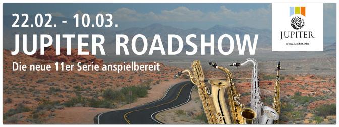 JUPITER Road Show vom 22.02. bis 10.03.2016